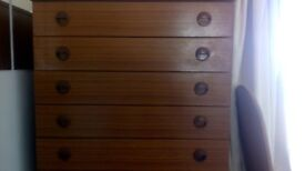 Chest of Drawers (6), Schreiber wood, Free Local Delivery