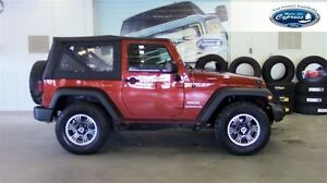 2014 Jeep Wrangler Sport (4x4  Soft Removable Top  Custom Rims)