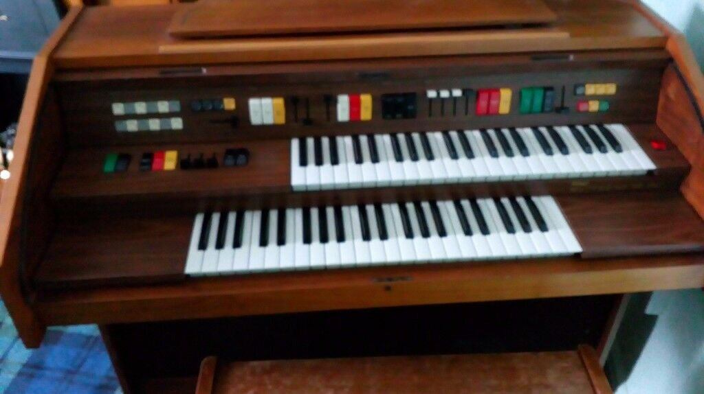 Old Fashioned Electric Organ