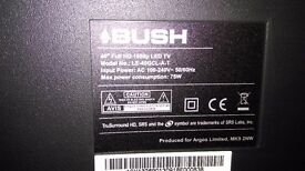 TV 40 LED FULL HD BUSH