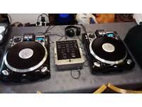 2 x Numark CDX and Numark M2 mixer
