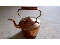 Antique Large Copper Kettle