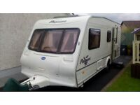 Bailey Pageant Moselle 4 Berth Touring Caravan