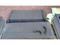 Vauxhall Astra g mk4 rear seat conversion and seatbelts