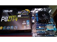 i7 3770k and Asus P8Z77-V Combo
