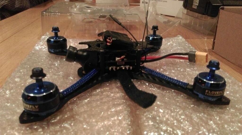 New Bfight 210 Racing/Freestyle drone + Transmitter/Controller FS-I6X ARTF