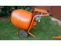 BELLE MINIMIX 150 CEMENT CONCRETE MIXER WITH STAND MAINS ELECTRIC 240V WORKS FINE