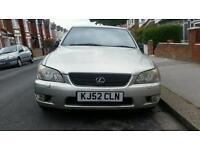 Lexus is200 quick sale £500