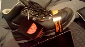 Black S3 Worksite Safety All Terrain Boots - Various sizes