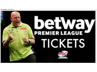 Great Tickets Premier league Darts Cardiff 2017