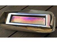 copper letter plate/box