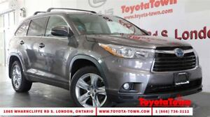 2015 Toyota Highlander Hybrid LIMITED LEATHER NAVIGATION BLIND S