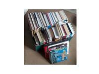 Box Of Book Paperback & Hardback Some Novels, Cooking, Art, Travel & Lifestyles