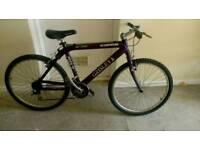 "Grisley aluminium mountain bike 26"" wheels 21 gears"