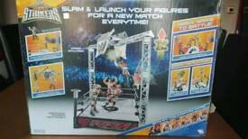 WWE slam n launch arena playset