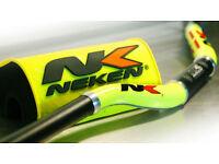 Neken HandleBars Bars Fatbars 28mm Flo Yellow YZF KXF CRF RMZ KTM 125 250 450