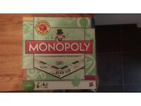 Enjoy the summer with this classic monopoly game...very clean and intact!