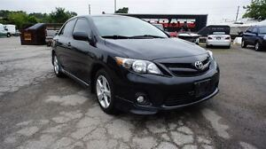2013 Toyota Corolla S, 5 SPEED, SUNROOF