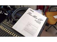 Yamaha Pro Mix 01 - motorised digital mixer with FX & mix recall incl. manual & snake