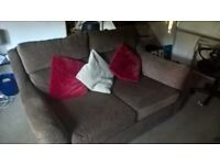 Lovely fabric 2 seater sofa, perfect condition (Needs to go)