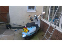habanna scooter 50cc spares or repairs 2002