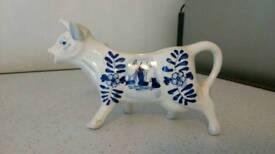 Dutch Delft cow creamer