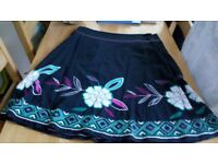 ladies monsoon skirt size 18