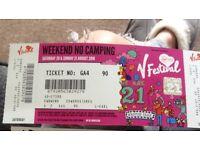 2 X V festival (no camping) Weston park £250