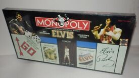 New sealed Elvis monopoly limited anniversary edition