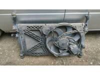 Ford transit mk7 2.2 tdci radiator with resorvar tank pipes complete