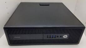 HP EliteDesk 800G2, G4400 3.30 GHz, 4GB DDR4 RAM, 320GB HDD, Win10 Pro