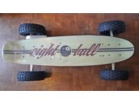 Electric Eightball 'Bigfoot' Skateboard 800W Huge Off-road Tyres, remote - New boxed