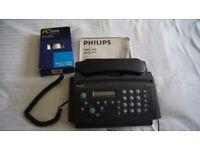 Philips Fax Machine HFC141 --HFC171