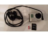 Go Pro Hero 3 with 16bg memory card