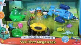 Brand New Octonauts gup mega pack