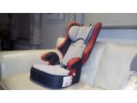 CHILD CAR SEAT.FOR AGES 2-12 OR SO.EXCELLENT CLEAN CONDITION