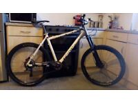 Excellent mountain bike for rough terrain,high spec,good condition.