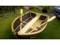 Nautiraid 1.9m coracle folding dinghy. carry in Motorhome / caravan. Unfold, get on the water easily