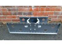 Heavy duty TV wall bracket