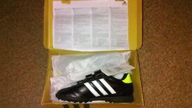 Size 2 1/2 Adidas Junior Kids Goletto IV TRX TF J Triple Turf Football Trainers, age 8-10 brand new