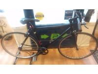 Black Falcon single speed, new rear wheel and chain just fitted working order good bicycle