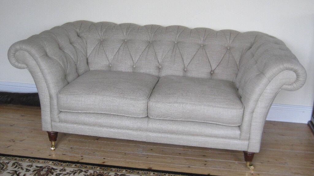 Chesterfield Sofa By Laura Ashley In Dereham Norfolk Gumtree