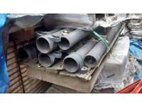 Cast iron down pipes + various fittings