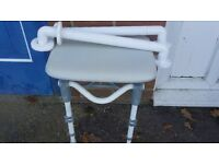 SHOWER SEAT AND HAND RAILS FREE TO COLLECT