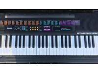 Casio Key lighting 5 Octave keyboard with stand