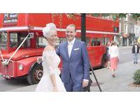 London Wedding video professional.