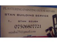 PLASTERING -PAINTING- GENERAL BUILDING SERVICES