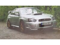 Subaru wrx sti 330 bhp in mint condition
