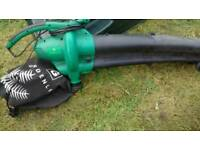 Gardening electric blower and vac