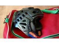 Taekwando protective head gear
